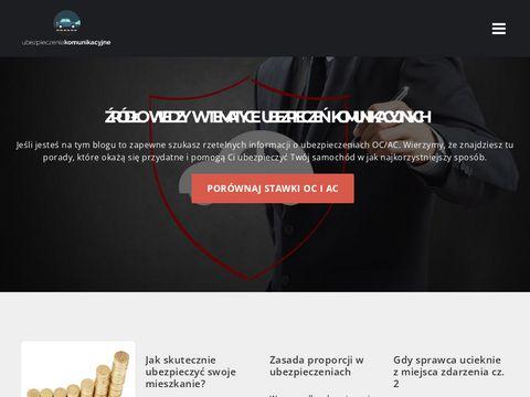Por贸wnywarka i Kalkulator ubezpiecze艅 komunikacyjnych