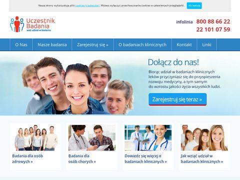 Ośrodek badań klinicznych zaprasza do udziału w płatnych badaniach klinicznych