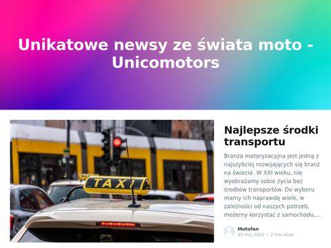 Unico Motors - Sprzedaż i naprawa skuterów, quadów, motocykli w Suwałkach