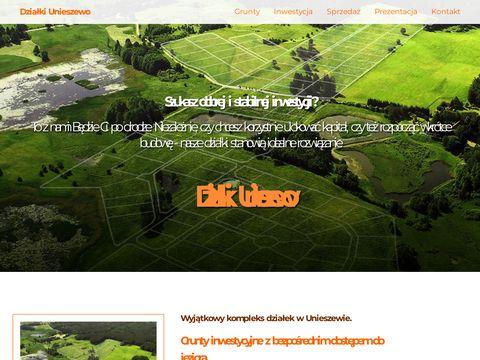 Działki i grunty na sprzedaż w Unieszewie blisko Olsztyna
