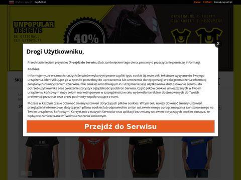 Unpopular Designs - kreatywne bluzy oraz koszulki z nadrukiem