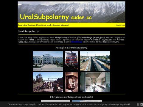Ural Subpolarny. Zdj臋cia z wyjazdu.