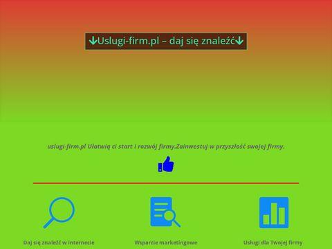 Uslugi-firm.pl - Wyszukiwarka Firm