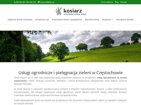 Usługi ogrodnicze Częstochowa