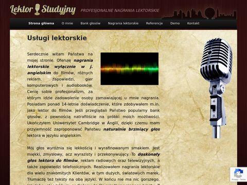 Native Speaker - Profesjonalne Usługi Lektorskie