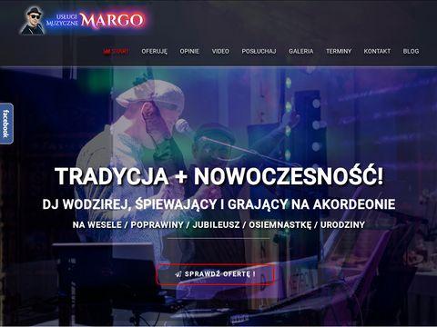 Dj wodzirej z akordeonem, na wesele, Warszawa okolice, Å›piewajÄ…cy dj mazowieckie