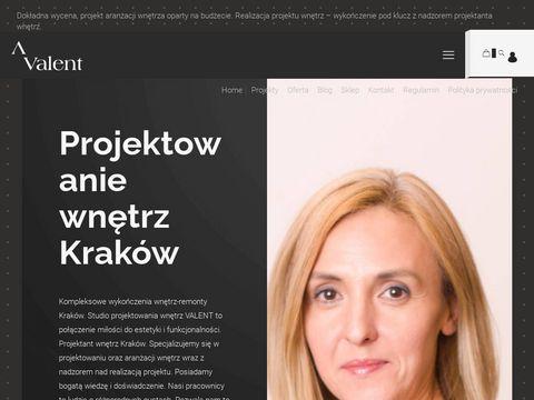 Wykończenia wnętrz Kraków - valent.pl