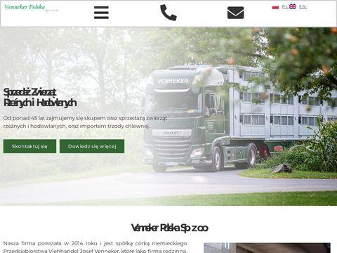 Venneker.pl - sprzeda偶 zwierz膮t rze藕nych