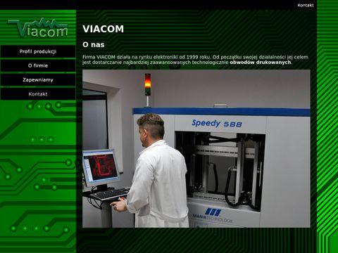 Viacom.ceti.pl metalizacja obwodów