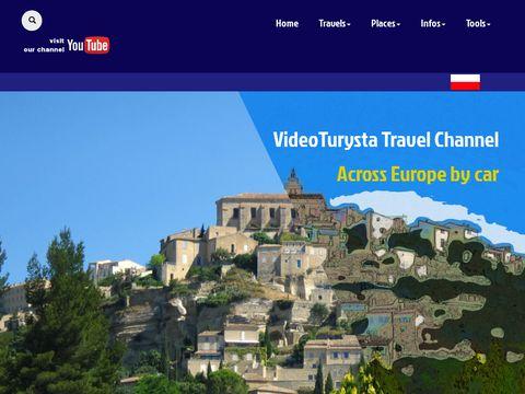 Turystyczny portal wideo. Samochodem przez Europ臋