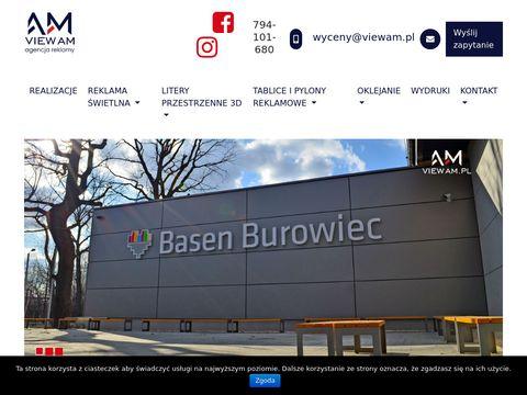 ViewAM - producent pylonów reklamowych
