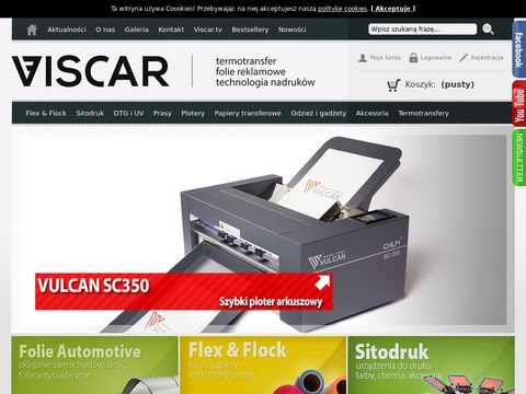 Viscar.pl - Dystrybutor technologii nadruków