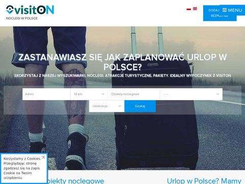 Wyszukiwarka ofert hoteli pensjonatów i obiektów - visiton.pl