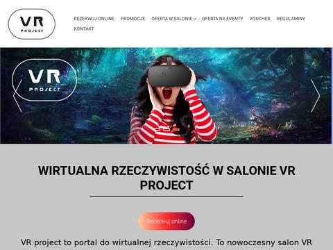 Salon wirtualnej rzeczywistoÅ›ci w centrum Warszawy