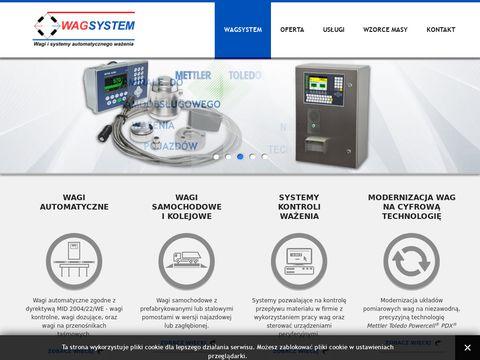 WAGSYSTEM - Sprzedaż, serwis, legalizacja wag