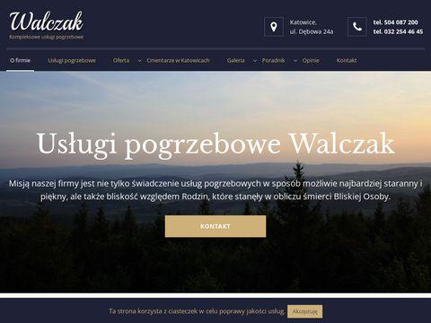 Usługi Pogrzebowe Katowice - Zakład Pogrzebowy WALCZAK