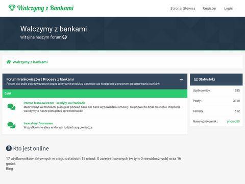 Kancelaria kredyt we frankach Wroc艂aw - walczymyzbankami.pl