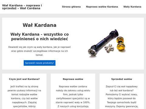 Firma ZEM - Naprawa wałów kardana