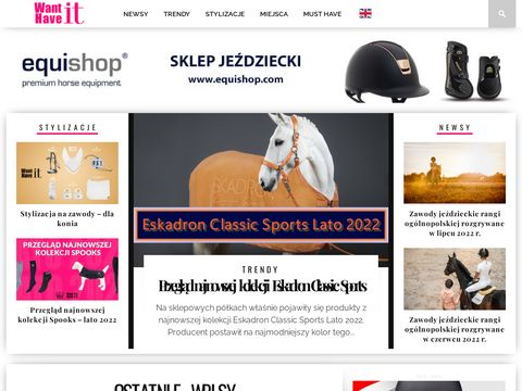 Blog o modzie jeździeckiej
