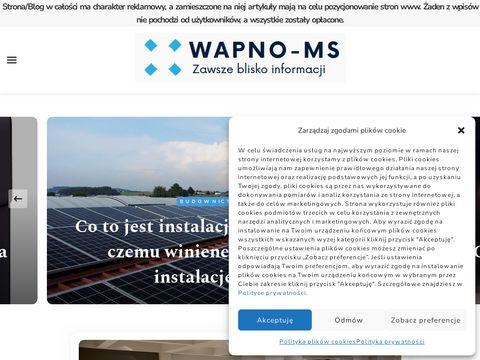 Nawozy wapnowe: Zakład Przetwórstwa Rolnego ZPRMS Świdwin