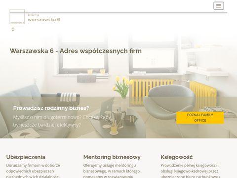 Wirtualne Biuro Warszawska 6, Białystok - adres dla firmy