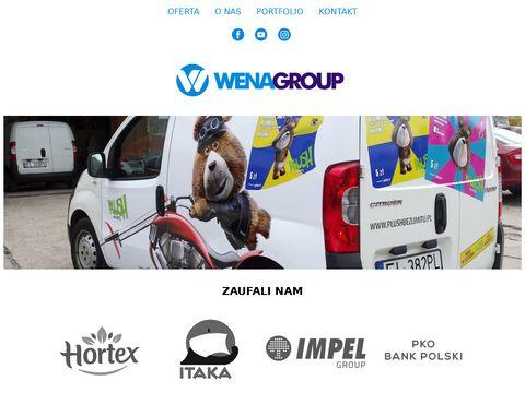 WENA group   reklama   projekty graficzne