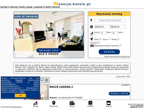 Hotele w Wenecji