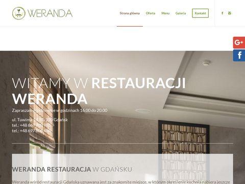 Www.werandarestauracja.pl restauracje