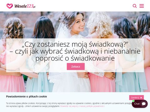 Sale weselne 艣l膮艣k - Wesele123