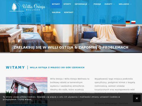 Pensjonat Willa Ostoja: Noclegi w Åšwieradowie Zdroju
