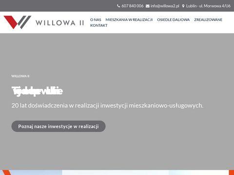 Deweloper Lublin - Willowa2 | Developer - z doÅ›wiadczeniem