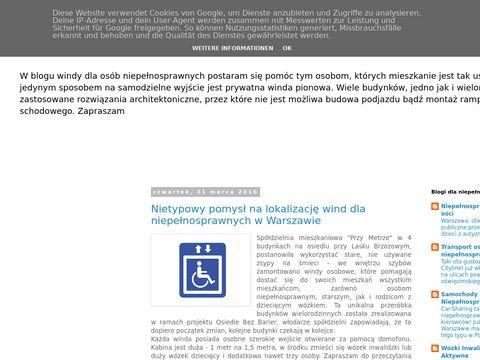 Windy dla niepełnosprawnych