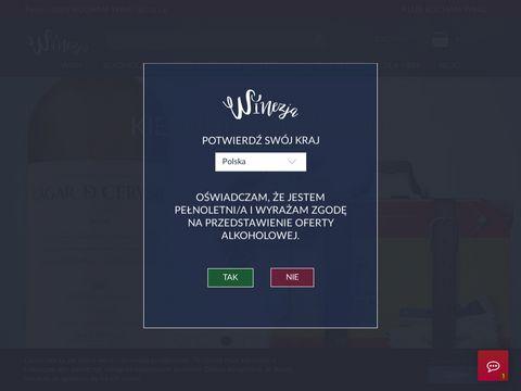Białe wino najlepiej zamówić w sklepie winezja.pl