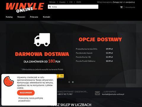 Sklep z muzykÄ… na winylu - winyle-online.pl