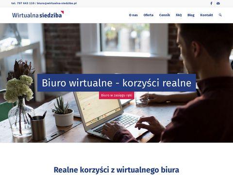 Wirtualna Siedziba - Obs艂uga sp贸艂ek