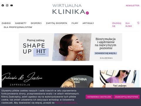 Wirtualnaklinika.pl Problemy Skóry