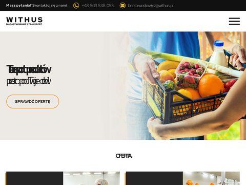 Us艂ugi magazynowe, logistyczne | Magazyn ch艂odniczy - Withus