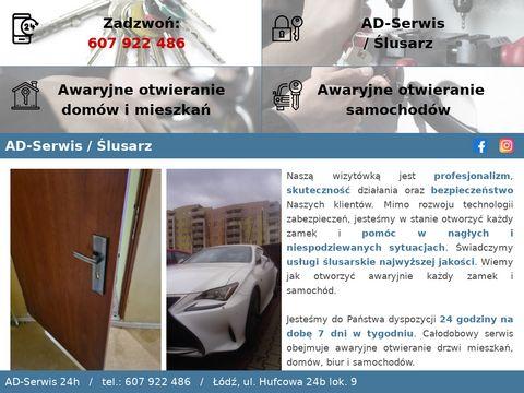 Awaryjne otwieranie drzwi - AD serwis