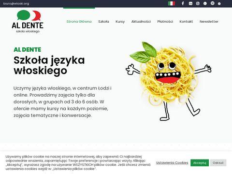Język włoski Łódź