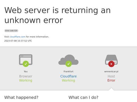 Samoch贸d zast臋pczy Gda艅sk - wmrentcar.pl