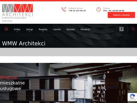 WMW ARCHITEKCI projekty budynków usługowych