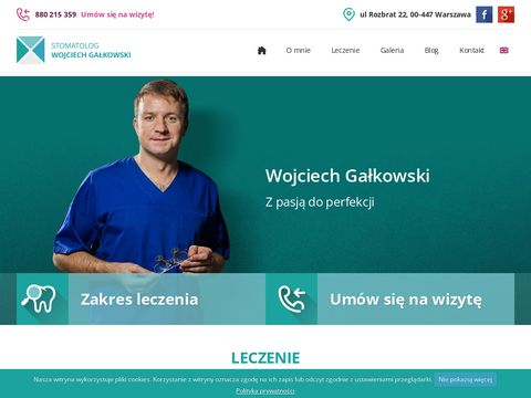 Wojciech Gałkowski Licówki