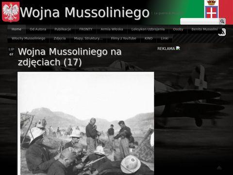 Wojna Mussoliniego - La guerra di Mussolini