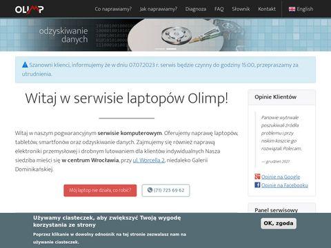 OLIMP - naprawa notebooków we Wrocławiu