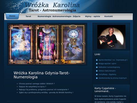 Wróżka Karolina Gdynia-Tarot-Numerologia