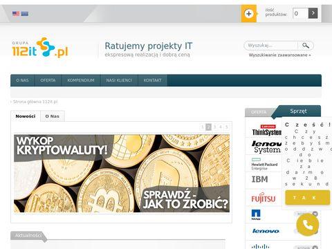 112IT-serwery ibm, serwery HP