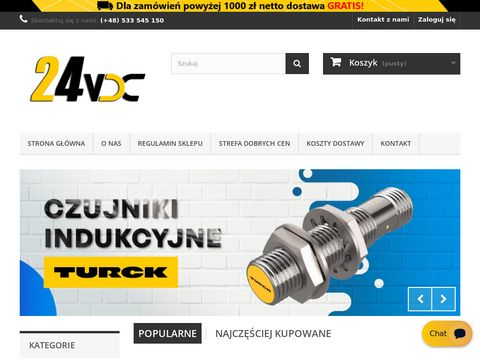 Sklep 24VDC.pl - automatyka przemysłowa