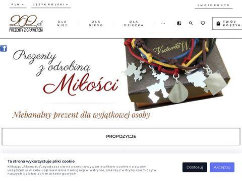 www.262.pl Galeria Prezentów z Grawerem