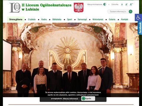 II Liceum Ogólnokształcą…ce w Lubinie