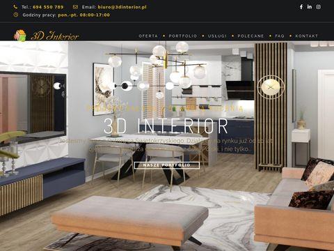 3D Interior Studio Projektowania Wn臋trz